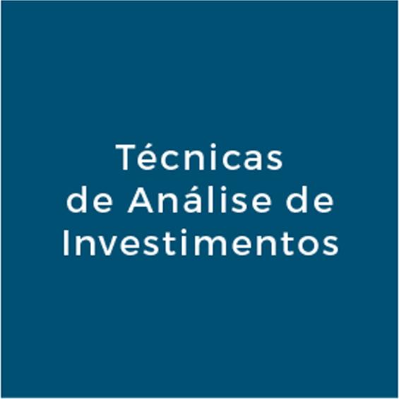 Técnicas de Análise de Investimentos